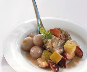 Veal Braised with Xinomavro and Prunes